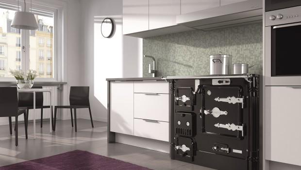 Cocinas calefactoras de leña, pensadas para el confort total, Cocina Calefactora Hergóm L-08