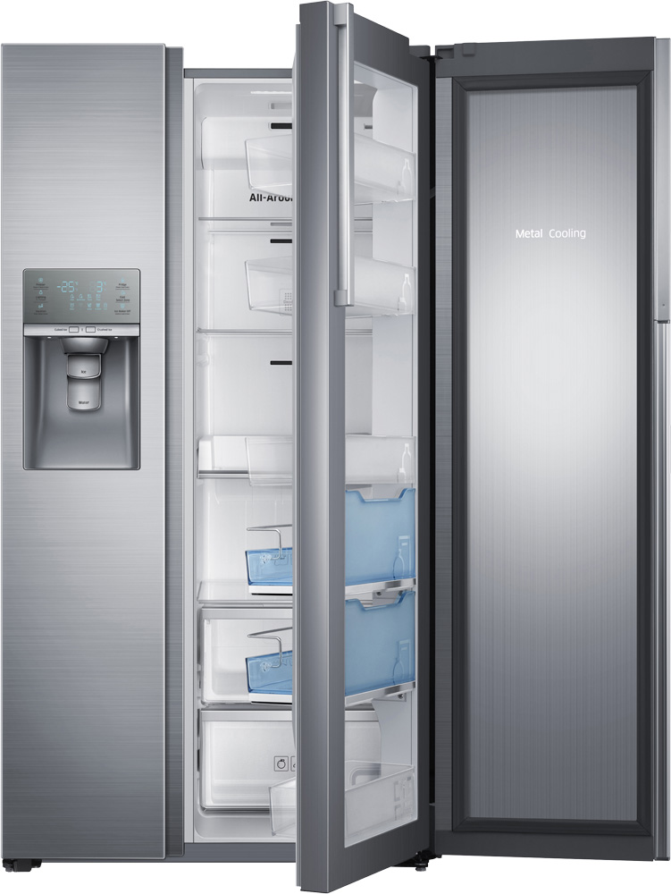 Samsung food showcase side by side samsung - Neveras doble puerta ...