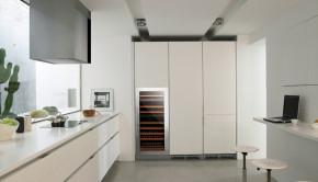 Vinotecas Nodor en cocina ambiente