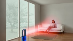 Dyson Pure Hot+Cool LinkTM, purifica, calienta y refresca, imagen ambiente